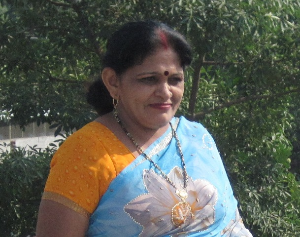 Mrs B. Devi mother of Dr Vikram Singh Yadav